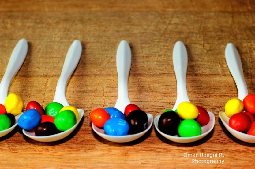 Sweeties in Spoons